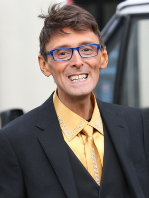 Johnny Robinson at the ITV studios London, England - 02.12.11
