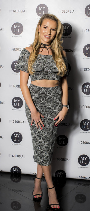 The Only Way Is Essex's Georgia Kousoulou at her By Georgia K launch party, London, 20 September 2016