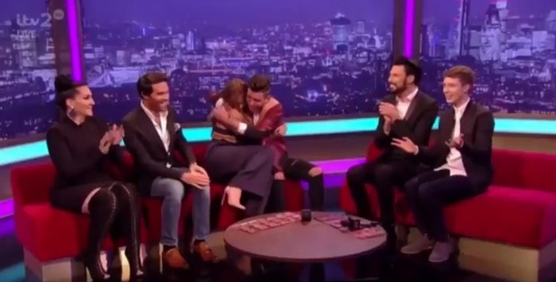 Vicky Pattison and Christian Burrows on The Xtra Factor