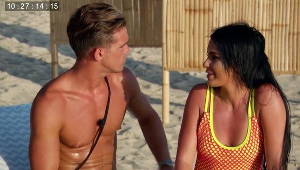 Ex On The Beach: Chrysten arrives to surprise Gaz Beadle 20 September