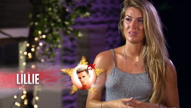 Ex On The Beach: Lillie Gregg cries over Gaz Beadle lap dance 22 September
