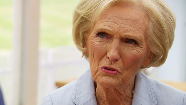 The Great British Bake Off. Broadcast on BBC OneHD 2016 Mary Berry
