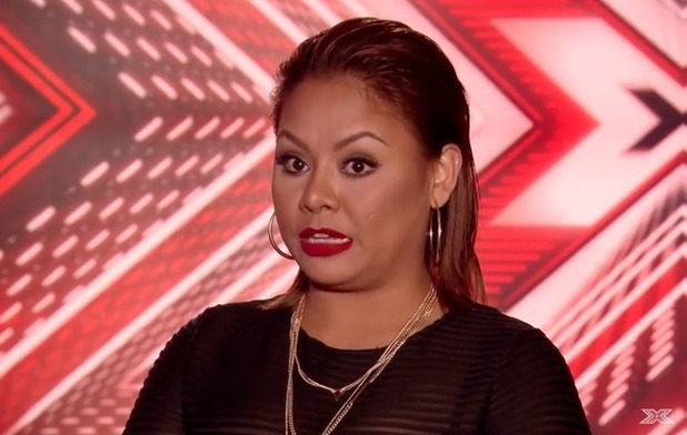 Ivy Grace Paredes on The X Factor - 19 Sep 2016