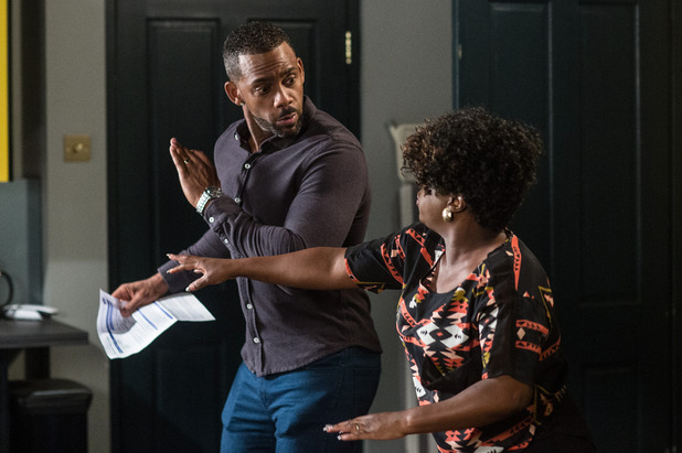 EastEnders, Vincent angry with Kim, Mon 26 Sep