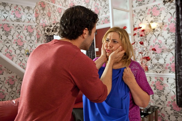 Hollyoaks, Diego tells Myra not to come to the wedding, Tue 27 Sep