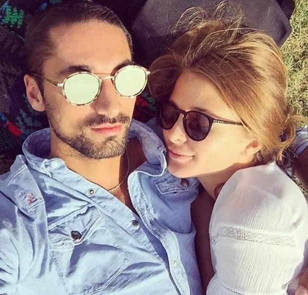 Millie Makcintosh and Hugo Taylor selfie, 24/9/16