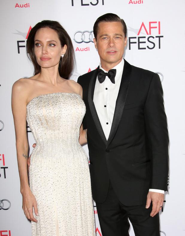 Angelina Jolie and Brad Pitt, By the Sea' film premiere, Los Angeles, America - 05 Nov 2015