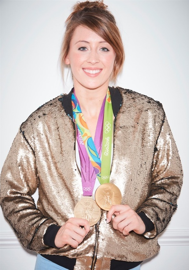 olympic champion Jade Jones with medals