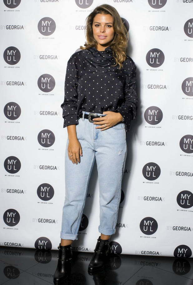 By Georgia K collection launch, London, UK - 20 Sep 2016 Chloe Lewis