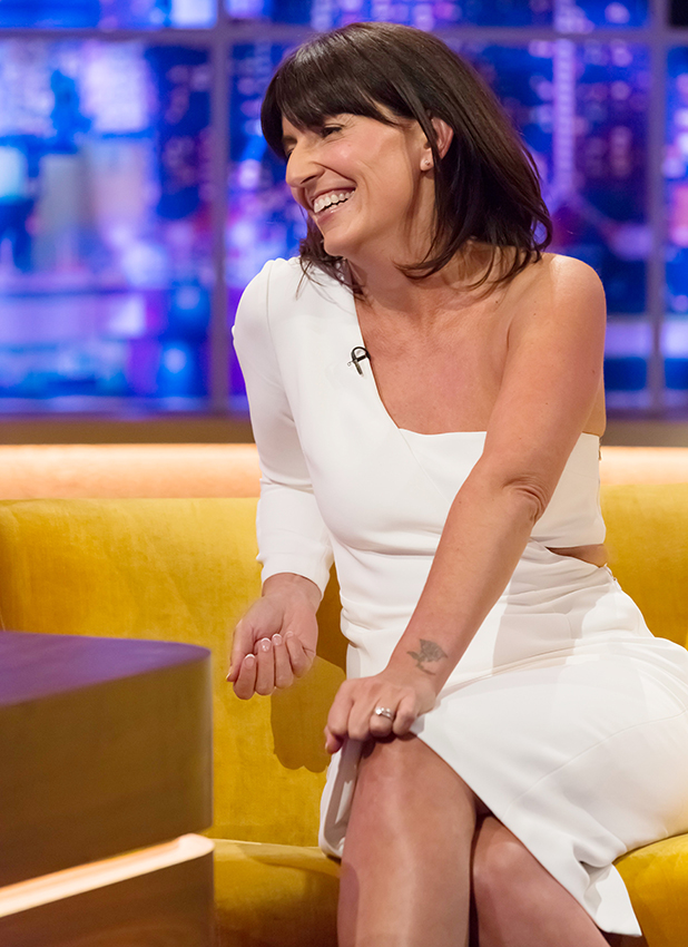 'The Jonathan Ross Show', London, UK - 24 Sep 2016 Davina McCall