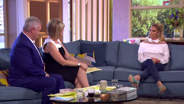 Katie Price asked by Eamon Holmes and Ruth Langsford about Mr X This Morning 23 Sept 2016