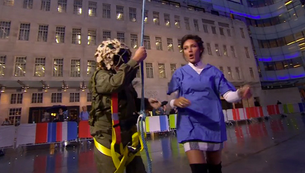 Michelle Keegan on The One Show 19 Sept 2016