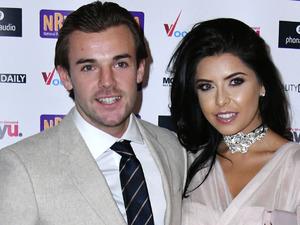 Love Island winners Cara de la Hoyde and Nathan Massey make a stylish duo at the National Reality Television Awards