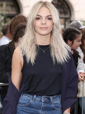 Louisa Johnson at London Fashion Week Spring/Summer 2017 Topshop show September 2016