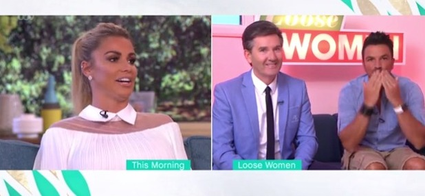 Katie Price and Peter Andre on ITV 2016