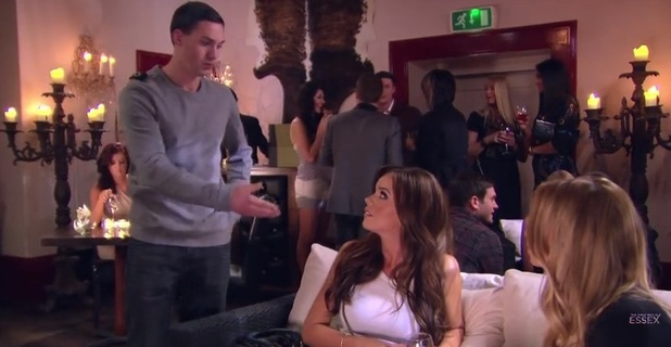 Kirk Norcross calls Maria Fowler an extra, TOWIE, YouTube, Feb 12 2012