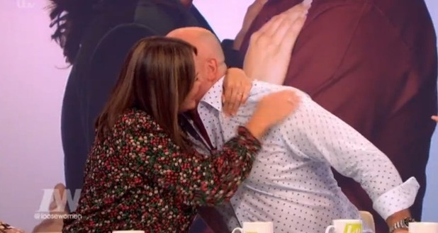 Martine McCutcheon and Ross Kemp on Loose Women 28 Sept 2016