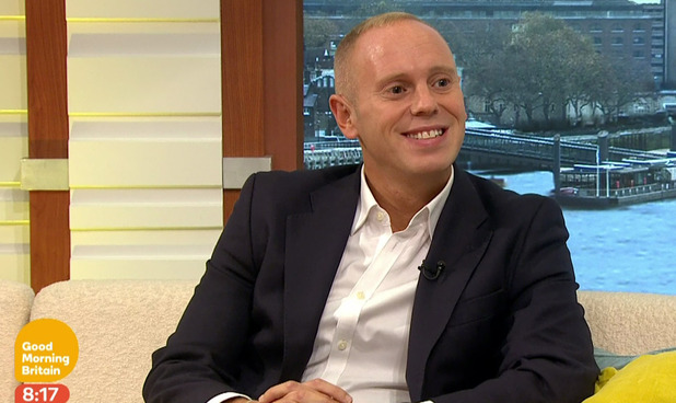 Judge Robert Rinder talks about taking part in 'Strictly Come Dancing' on 'Good Morning Britain'. Broadcast on ITV1HD