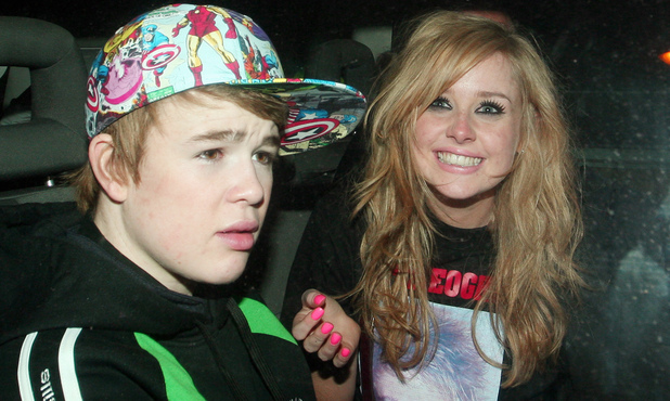 Diana Vickers and Eoghan Quigg 2008