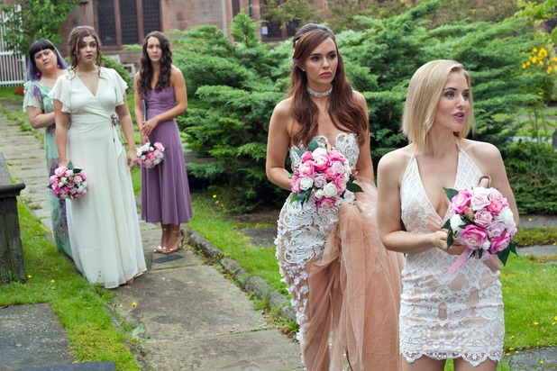 Hollyoaks, Mercedes prepares to marry Joe, Thu 29 Sep
