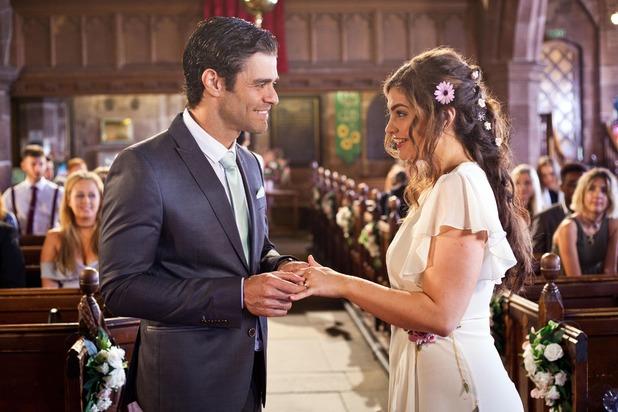Hollyoaks, Celine and Diego's wedding, Fri 30 Sep