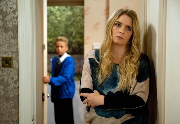 Hollyoaks, Noah tells Charity how it is, Mon 3 Oct