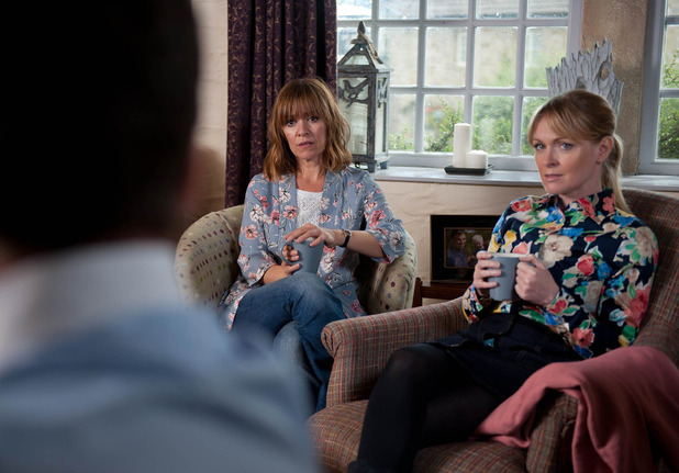 Emmerdale, Rhona finds out Paddy trashed the house, Fri 30 Sep