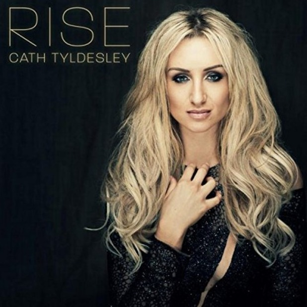 Catherine Tyldesley album cover for Rise, out 11 November 2016