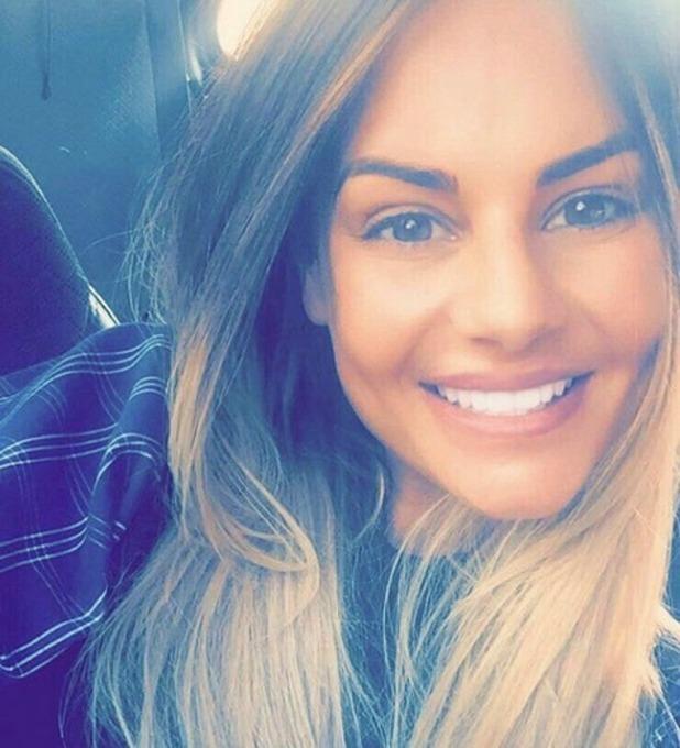 Chantelle Connelly selfie on Instagram 29 September