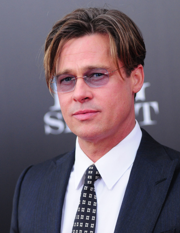 Brad Pitt, The Big Short premiere in New York November 2015