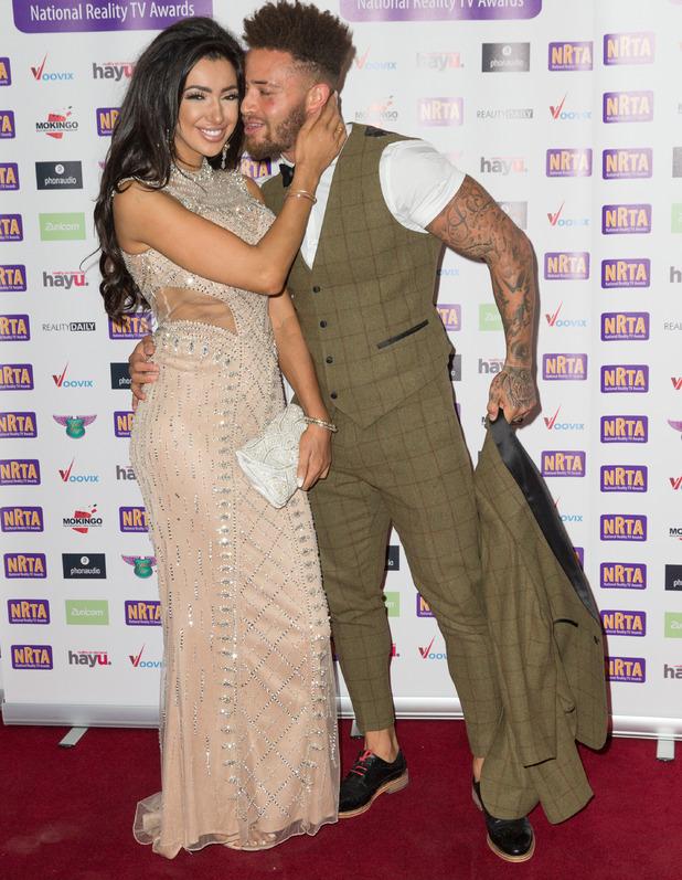 Chloe Khan and Ashley Cain, National Reality TV Awards, London 29 September