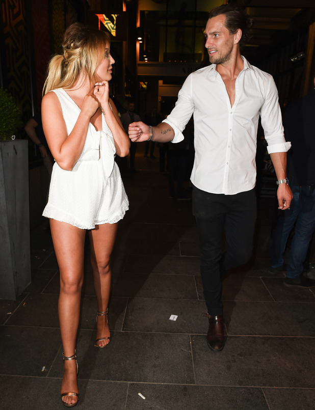 Charlotte Crosby and Ash Harrison, Manchester 24 July