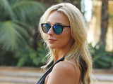 The Only Way Is Essex's Amber Dowding filming the new series in Marbella, Spain, 25 September 2016