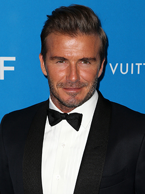 6th Annual UNICEF Ball at the Beverly Wilshire Hotel, Beverly Hills - Arrivals David Beckham