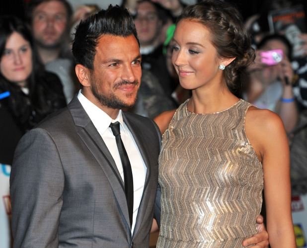 Pride of Britain Awards held at the Grosvenor House Emily and Peter Andre