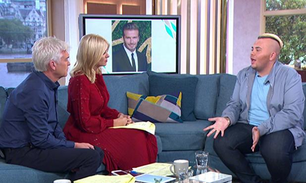 'This Morning' TV show, London, UK - 26 Sep 2016 Jack Johnson