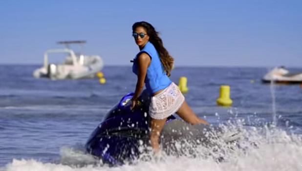 X Factor Judges' Houses: Nicole Scherzinger greets the boys in Nice September 2016