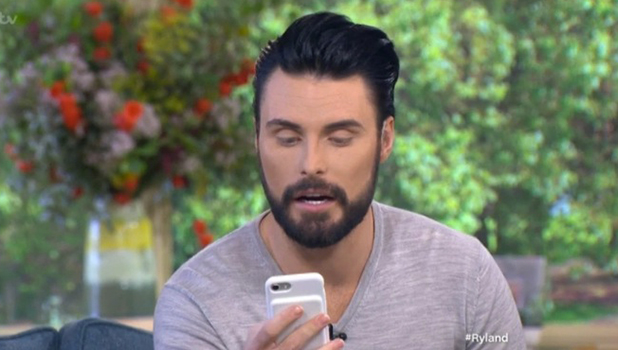 Rylan Clark-Neal on This Morning, 30 September 2016
