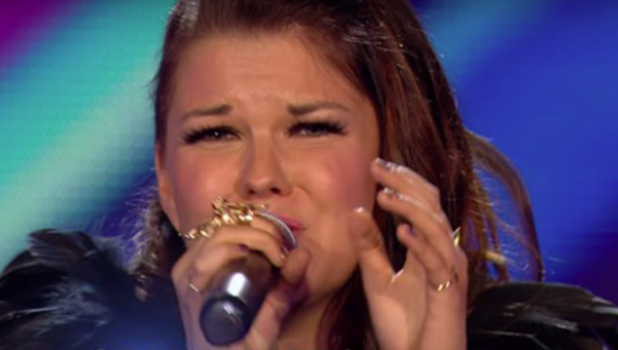 Saara Alto performs for the judges at bootcamp on 'The X Factor'. Broadcast onITV1HD