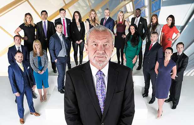 The Apprentice series 12: Lord Sugar with the 18 candidates 2016