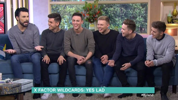 Yes Lad and Rylan Clark-Neal on This Morning ITV, 26 September 2016