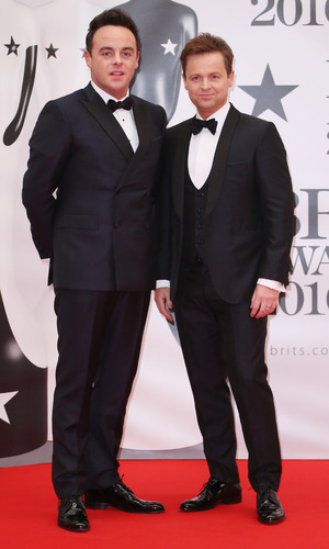 Ant and Dec, BRIT Awards 2016 January