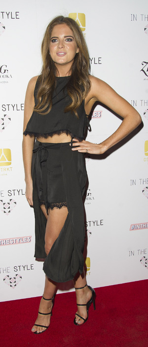 Made In Chelsea star Binky Felstead at the In The Style party, London, 6 October 2016