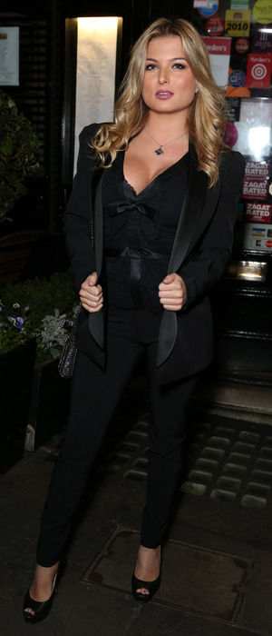 Love Island star Zara Holland at 'The Art of Love' book launch party, London, UK 5 October 2016