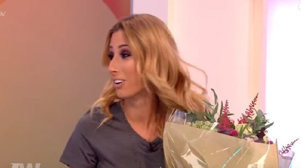 Loose Women: Stacey Solomon gets flowers and birthday message from Joe Swash 5 October 2016
