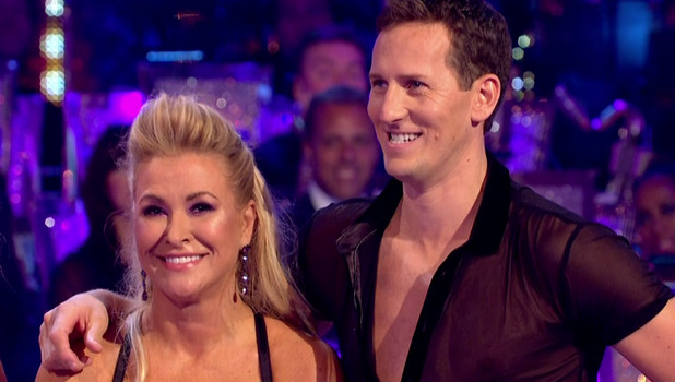 Anastacia and Brendan Cole on Strictly Come Dancing 5 October