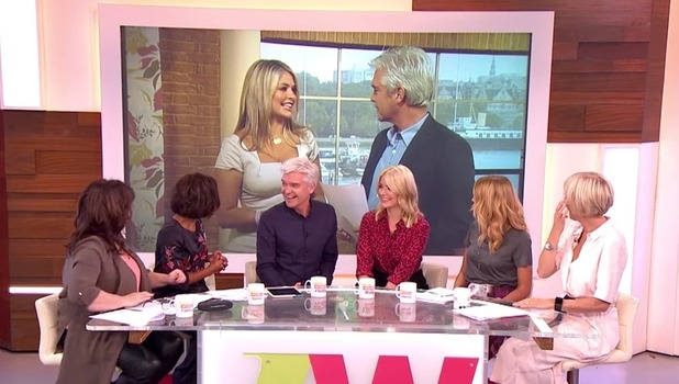 Holly Willoughby and Phillip Schofield on This Morning, ITV 5 October