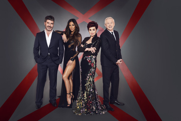X Factor Live Shows 2016, Simon Cowell, Nicole Scherzinger, Sharon Osbourne, Louise Walsh, Sat 8 Oct