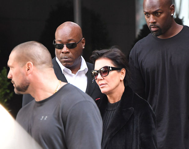 Kris Jenner arrives in NYC to see Kim Kardashian after robbery - 3 Oct 2016