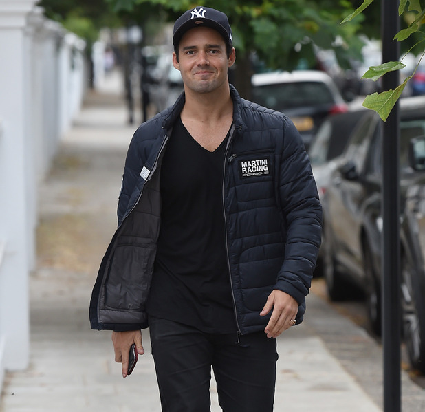 Spencer Matthews out in London July 2016
